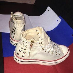 Converse Studded Platform Sneakers